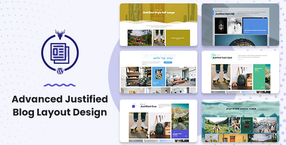 Advanced Justified Blog Layout Design [Nulled Free Download]