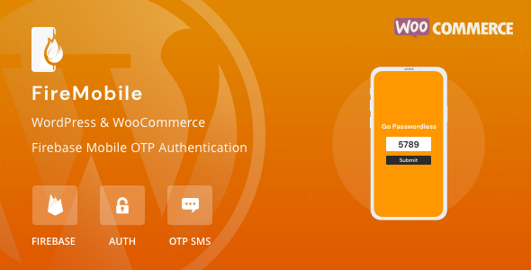 FireMobile- WordPress & WooCommerce firebase mobile OTP authentication [Nulled Free Download]